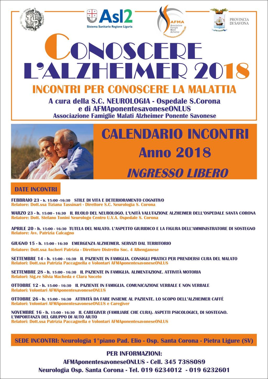 CONOSCERE ALZHEIMER_ 2018