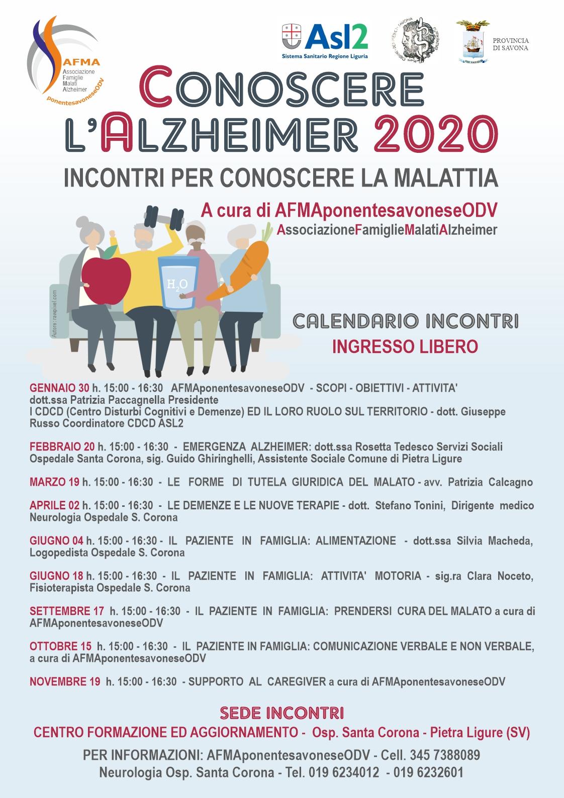 Conoscere Alzheimer 2020